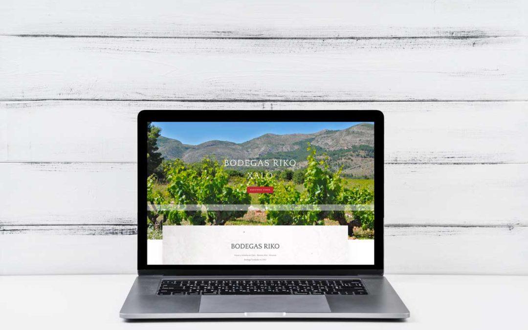 Bodegas Riko lanza su nueva tienda online