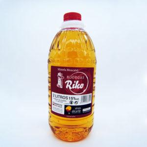 garrafa mistela moscatel 2 litros