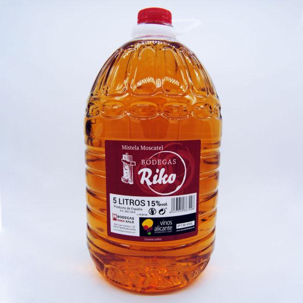 garrafa mistela moscatel 5 litros